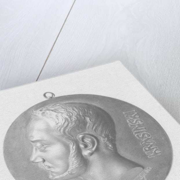 Medallion of Zygmunt Krasiński by Cyprian Kamil Norwid