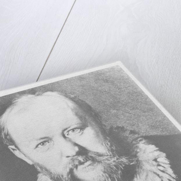 Alexander Ostrovsky by Russian School
