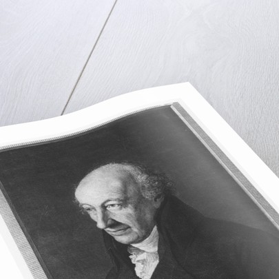 Christoph Martin Wieland by J. Schmidt