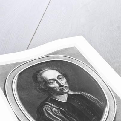Portrait of Nicolas Rigault by Gerard Edelinck