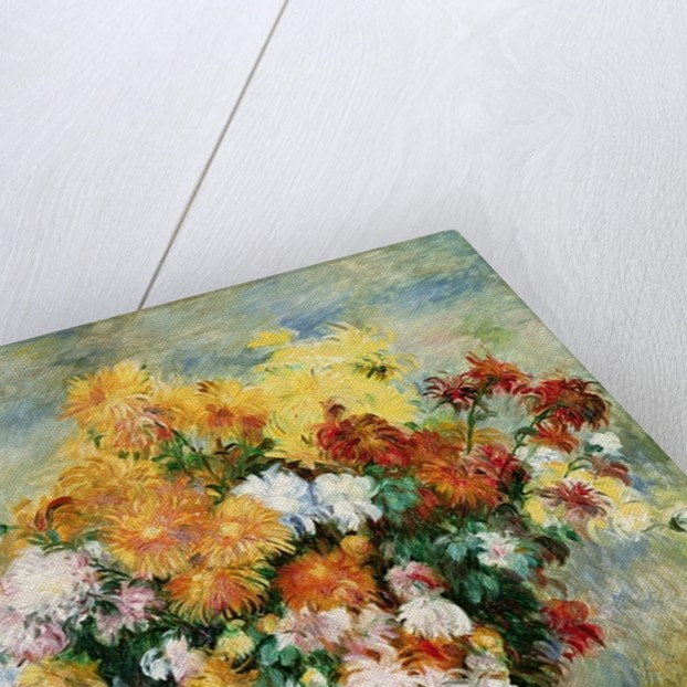 Bouquet of Chrysanthemums by Pierre Auguste Renoir