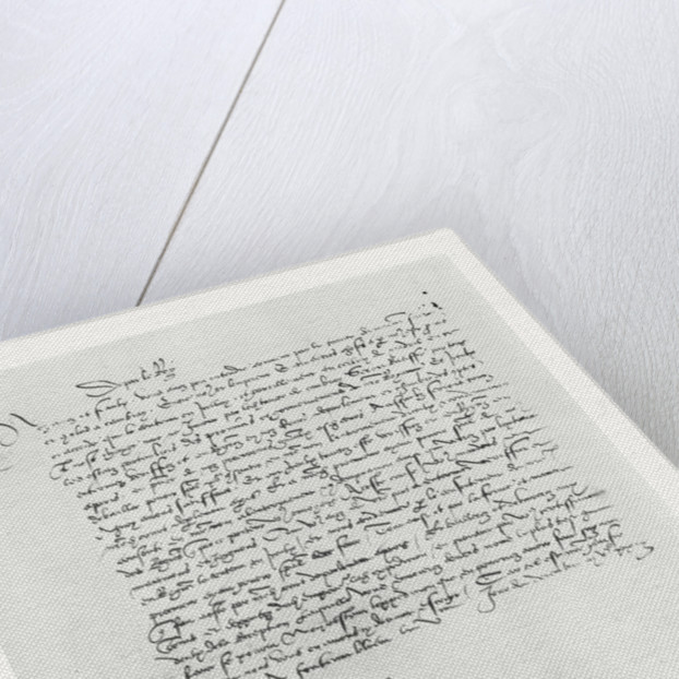 Letter from Francis I of France to the Parlement of Bordeaux by French School