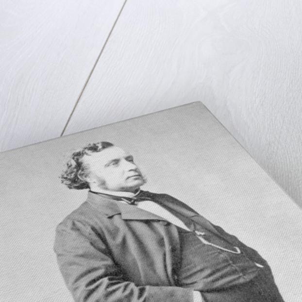 Portrait of Ernest Picard by Pierre Petit