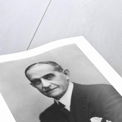Portrait of Nikolaos Sokratis Politis by Eugene Pirou