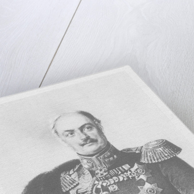 Count Pavel Dmitrievich Kiselyov by Franz Kruger