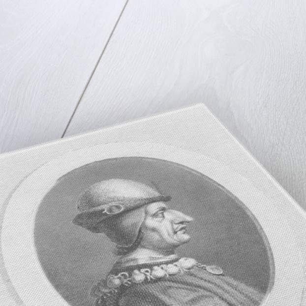 Louis XI, King of France by French School