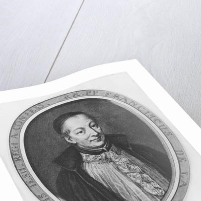 François d'Aix de la Chaise by Antoine Trouvain