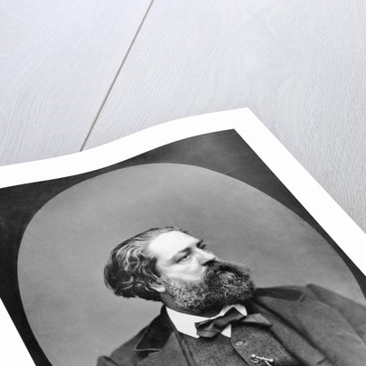 Portrait of Gustave Aimard by Goupil & Cie