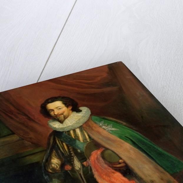 Charles d'Albert Duke of Luynes, High Constable and Falconer by Joseph-Nicolas Robert-Fleury