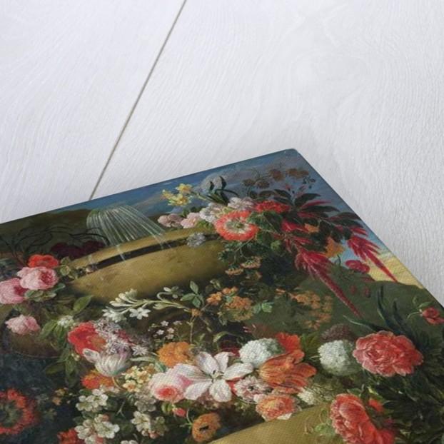Basin and Flowers by Gaspar Peeter The Elder Verbruggen