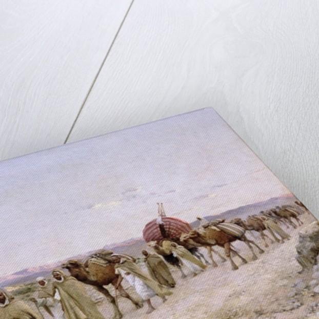 A Caravan near Biskra by Paul John Baptiste Lazerges