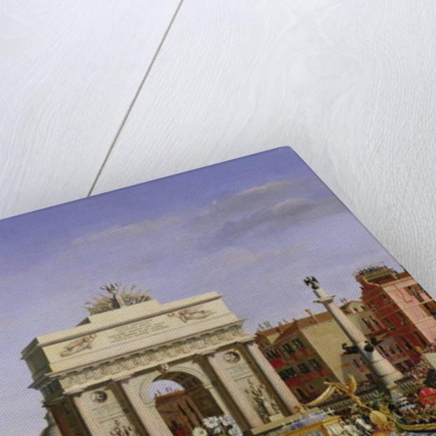Entry of Napoleon I into Venice by Giuseppe Borsato