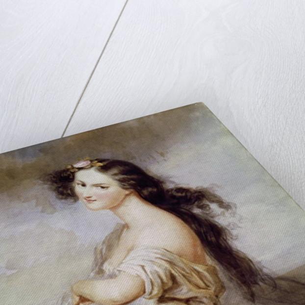 Portrait of Juliette Drouet by Charles Voillemot