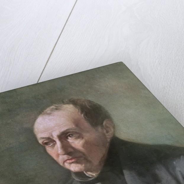 Auguste Comte by Louis Jules Etex