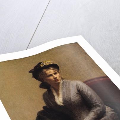 Charlotte Dubourg by Ignace Henri Jean Fantin-Latour