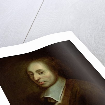 Blaise Pascal c.1691 by Francois the Younger (after) Quesnel