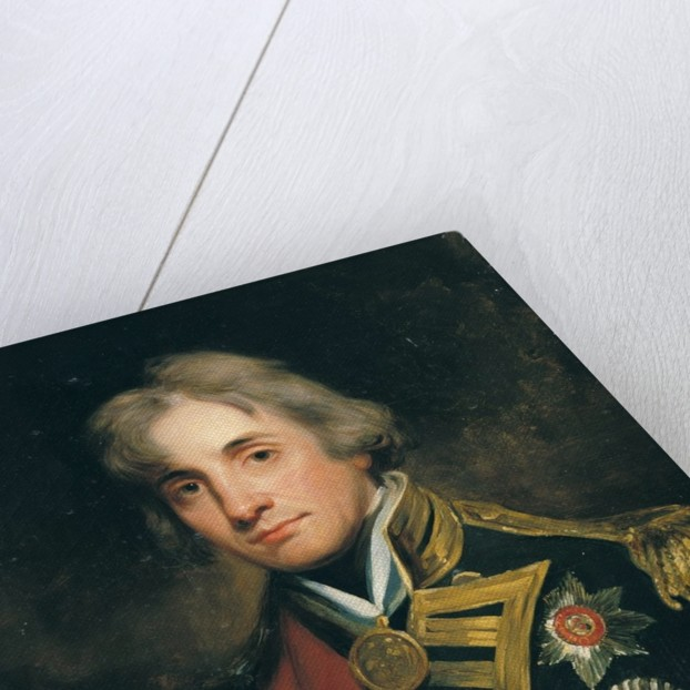 Portrait of Nelson by George Peter Alexander Healy