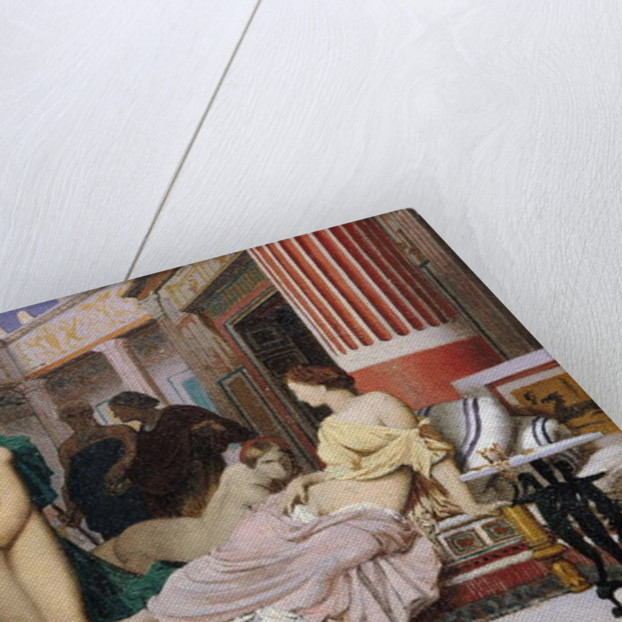 Greek Interior by Jean Leon Gerome