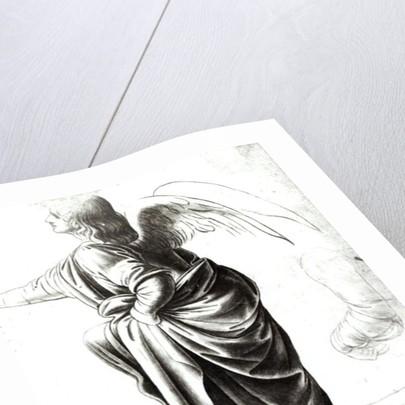 Study of an Angel by Leonardo da Vinci