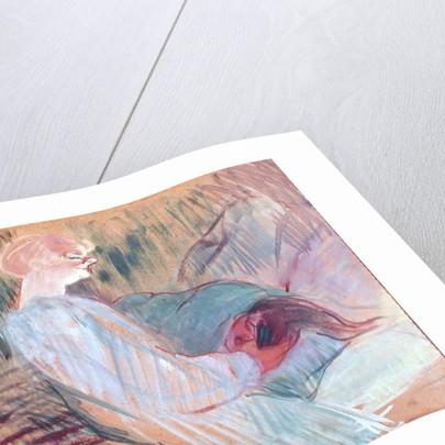 The Divan, Rolande by Henri de Toulouse-Lautrec