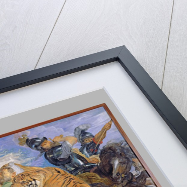 The Tiger Hunt by Peter Paul Rubens