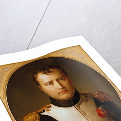 Portrait of Napoleon in Uniform by Francois Pascal Simon