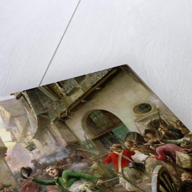 Henri de La Rochejaquelein at the Battle of Cholet, 17th October 1793 by Paul Emile Boutigny