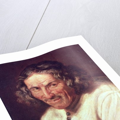 Portrait of Paul Scarron by French School