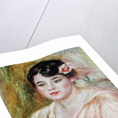 Portrait of Adele Besson by Pierre Auguste Renoir
