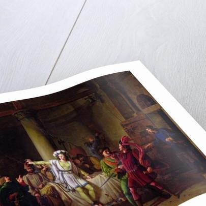 Joan of Arc in Rouen Prison by Pierre Henri Revoil