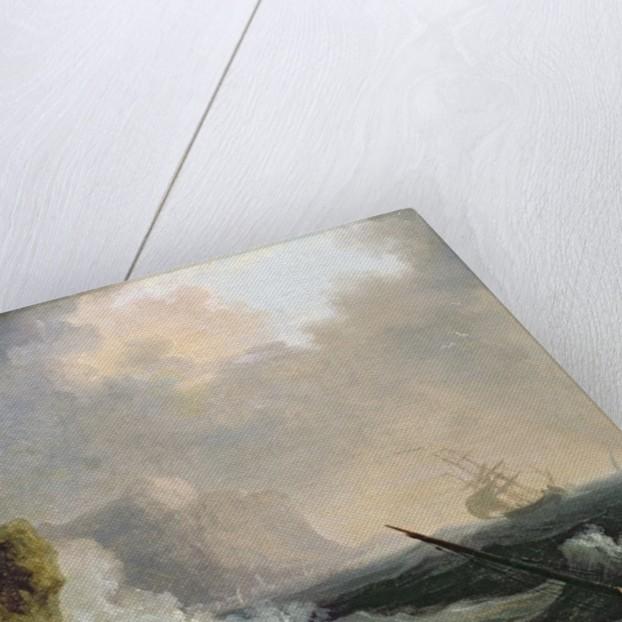 The Storm by Charles Francois Lacroix de Marseille