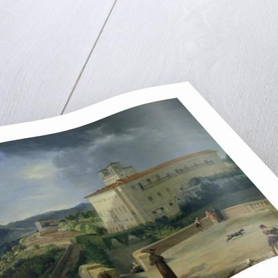 View of the Villa Medici, Rome by Nicolas Antoine Taunay