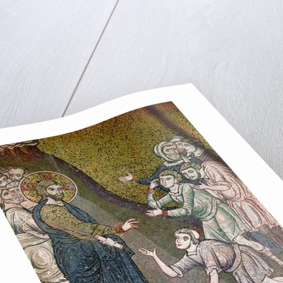 Jesus Healing the Crippled and the Blind by Byzantine School