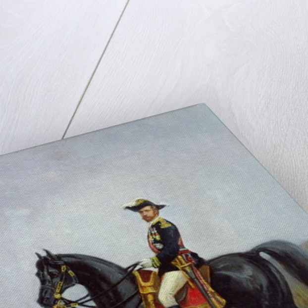 Equestrian Portrait of General George Ernest Boulanger by Daniel Alexander Williamson