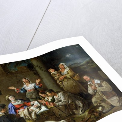 Adoration of the Shepherds by Jean Michelin