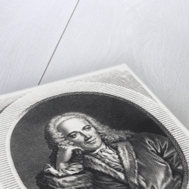 Portrait of Francois Quesnay by J. Chevallier