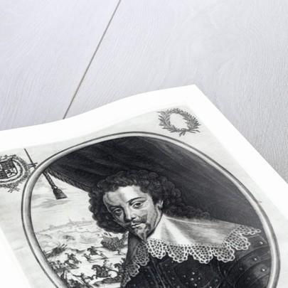 Charles de Luynes Marquis d'Albert by Balthazar Moncornet