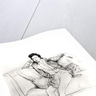 Alexandre Dumas Pere by Achille Deveria