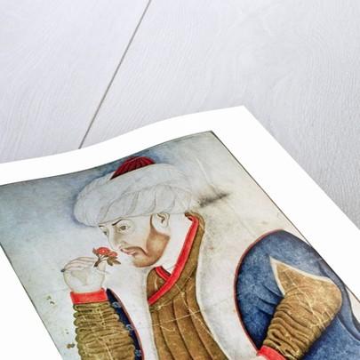 Portrait of Sultan Mehmet II by Turkish School