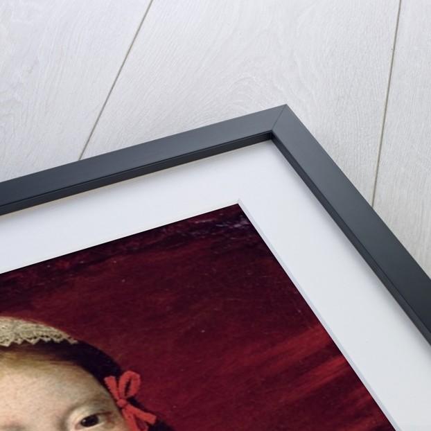 Portrait of Louis XIV as a child by Claude Deruet