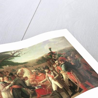 Napoleon Bonaparte Receiving the Keys of Vienna at the Schloss Schonbrunn by Anne Louis Girodet de Roucy-Trioson