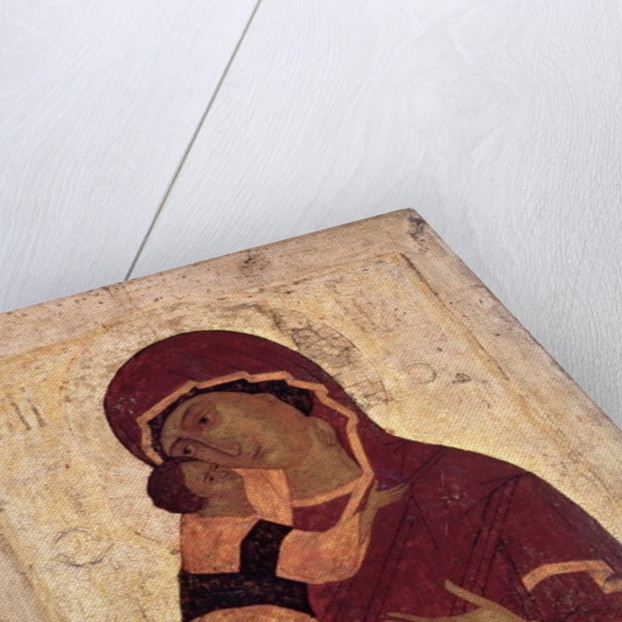 Umilenie Virgin of Wladimir, Moscow School by Russian School