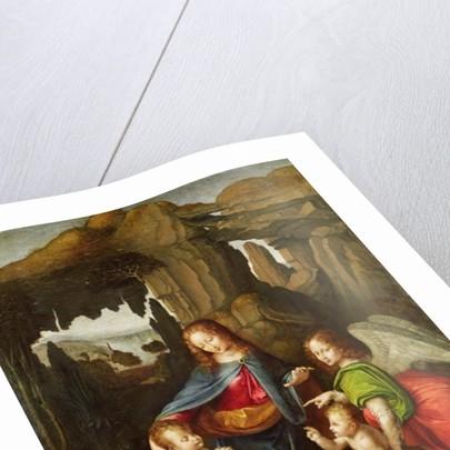 Madonna of the Rocks by Leonardo da Vinci