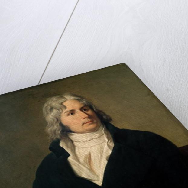 Louis-Francois Bertin by Francois Xavier Fabre