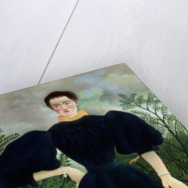 Portrait of a Woman by Henri J.F. Rousseau