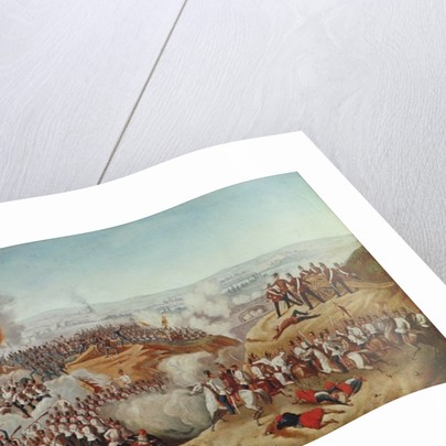 The Battle of Magenta by Austrian School