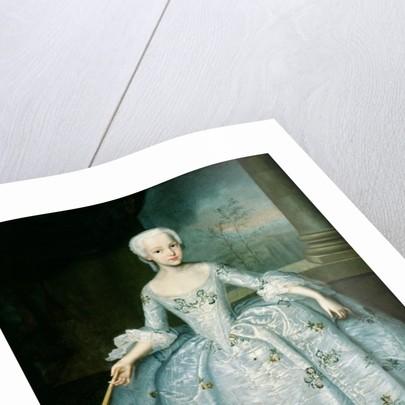 Portrait of Sarah Eleonor Fermor by Ivan Yakovlevich Vishnyakov
