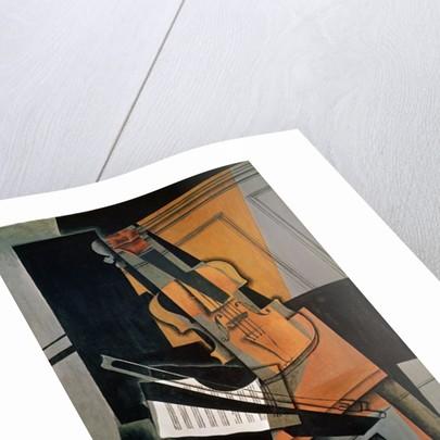 The Violin by Juan Gris