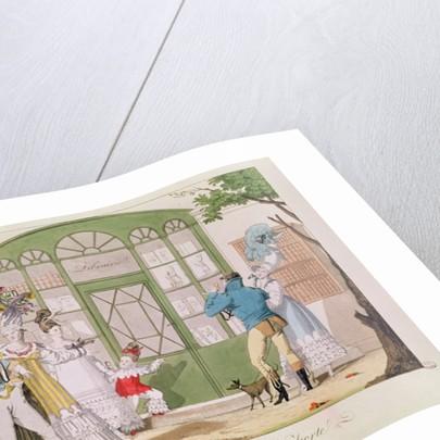 'Les Caricatures a la Porte' by French School
