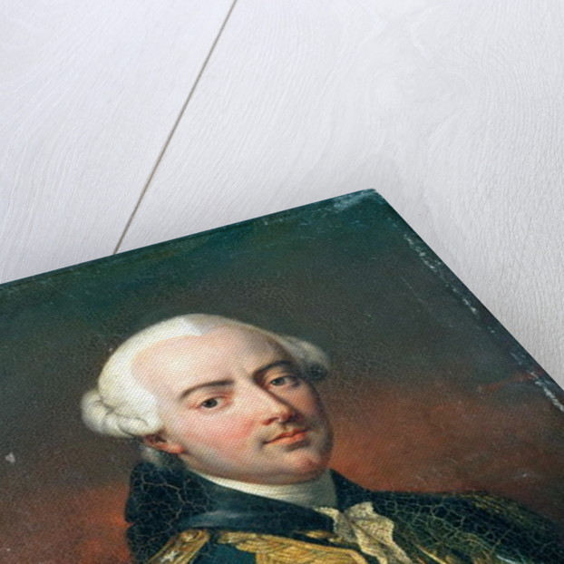 Portrait of Charles Henri Count of Estaing by Jean Pierre Franque